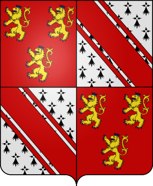Blason de la famille de Liedekerke Beaufort
