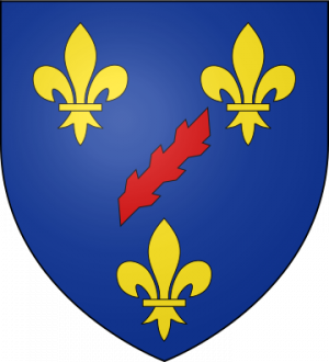 Blason de la famille de Bourbon-Roussillon