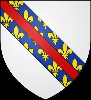 Blason de la famille de Bourbon-Lavedan