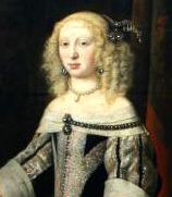 Portrait de Elisabeth Amalie von Hessen-Darmstadt (1635 - 1709)