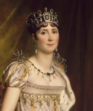 Portrait de L'impératice Joséphine (1763 - 1814)