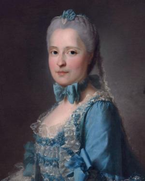 Portrait de Marie-Josèphe de Saxe (1731 - 1767)