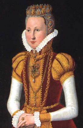 Portrait de Sophie von Mecklenburg-Schwerin (1557 - 1631)