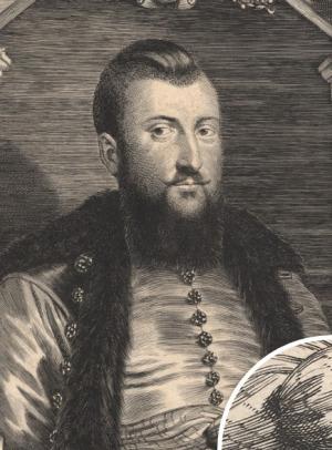 Portrait de Krzysztof Opaliński (1611 - 1655)