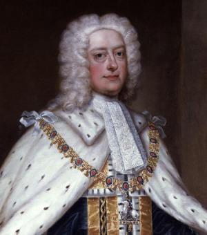 Portrait de George II of Great Britain (1683 - 1760)