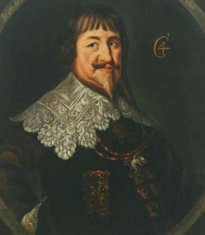 Portrait de Christian IV de Danemark (1577 - 1648)