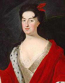 Portrait de Anna Jabłonowska (1660 - 1727)
