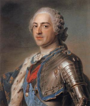 Portrait de Louis XV de France (1710 - 1774)