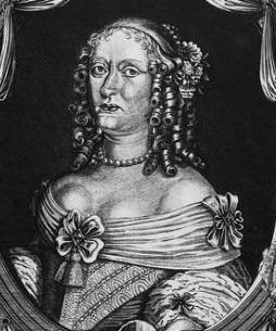 Portrait de Magdalena Sibylle von Hohenzollern (1612 - 1687)