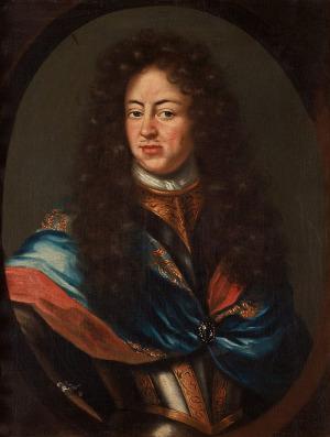 Portrait de Charles XI de Suède (1655 - 1697)
