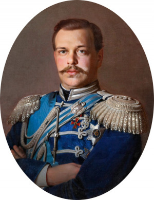 Portrait de Alexandre III de Russie (1845 - 1894)