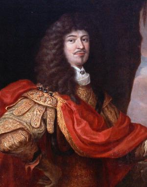Portrait de Christian Albrecht von Schleswig-Holstein-Gottorp (1641 - 1695)