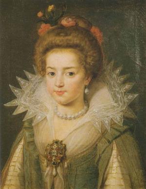Portrait de Christine de France (1606 - 1663)