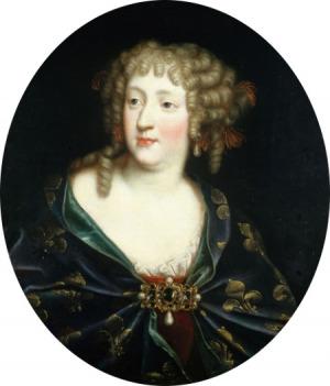 Portrait de Marie-Thérèse d'Autriche (1638 - 1683)