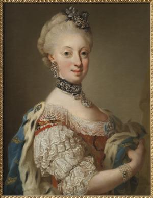 Portrait de Sophie Magdalene von Oldenburg (1746 - 1813)