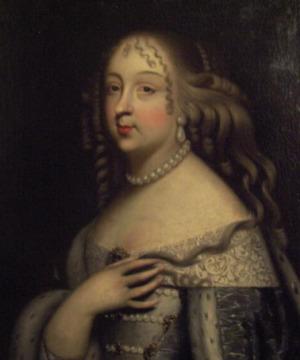 Portrait de Mademoiselle de Nemours (1644 - 1724)