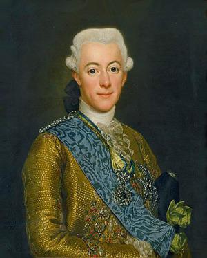 Portrait de Gustave III de Suède (1746 - 1792)