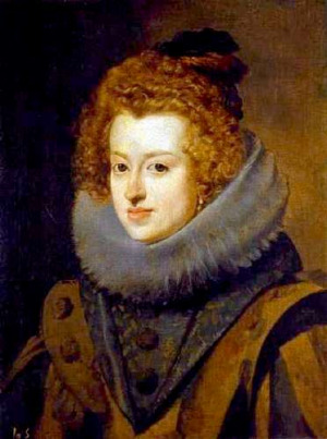 Portrait de Maria Anna von Habsburg (1606 - 1646)