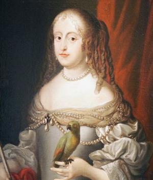 Portrait de Sophia von Braunschweig-Lüneburg (1628 - 1685)