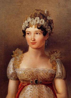 Portrait de Caroline Bonaparte (1782 - 1839)