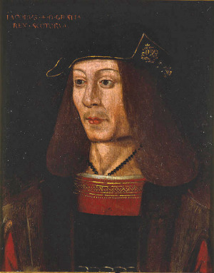 Portrait de James IV of Scotland (1473 - 1513)