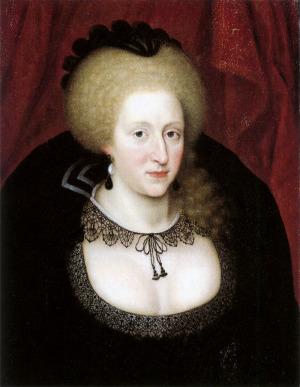 Portrait de Anne de Danemark (1574 - 1619)