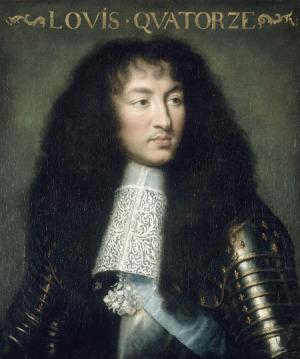Portrait de Louis XIV de France (1638 - 1715)