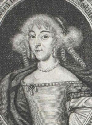Portrait de Sophie Luise von Württemberg (1642 - 1702)