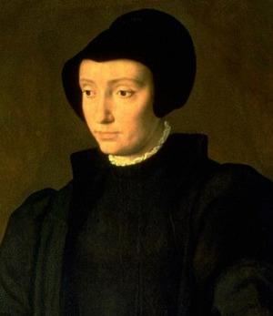 Portrait de Christine von Oldenburg (1521 - 1590)