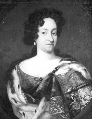 Portrait de Anne-Sophie von Oldenburg (1647 - 1717)