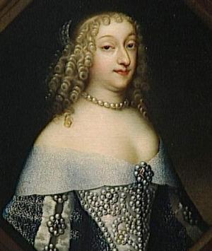 Portrait de Anna Gonzaga (1616 - 1684)