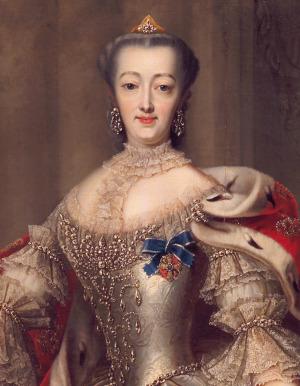 Portrait de Magdalena von Brandenburg-Kulmbach (1700 - 1770)