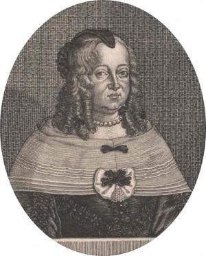 Portrait de Anna Eleonore von Hessen-Darmstadt (1601 - 1659)