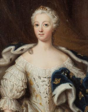 Portrait de Luise Ulrike von Preußen (1720 - 1782)