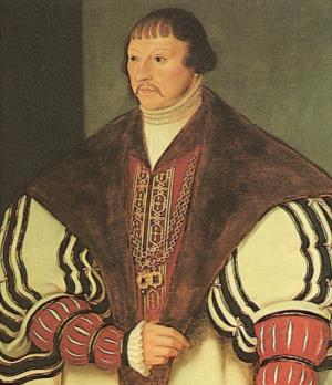 Portrait de Albrecht von Mecklenburg-Schwerin (1486 - 1547)