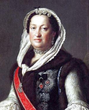 Portrait de Maria Josepha von Habsburg (1699 - 1757)