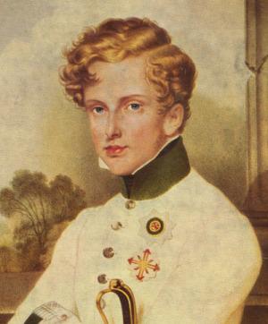 Portrait de Napoléon II (1811 - 1832)