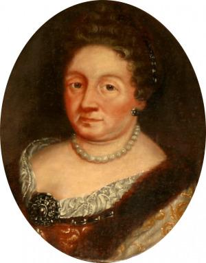 Portrait de Zofia Anna Czarnkowska (ca 1658 - 1701)
