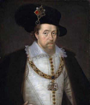 Portrait de James VI of Scotland (1566 - 1625)