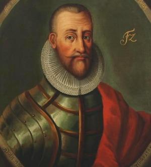 Portrait de Frédéric II de Danemark (1534 - 1588)