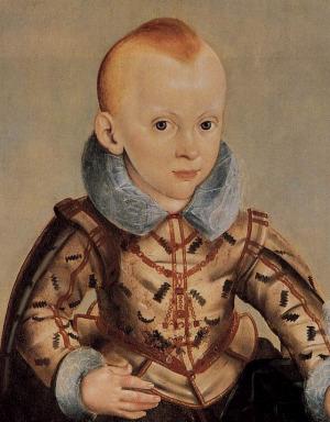 Portrait de Erdmann August von Hohenzollern (1615 - 1651)