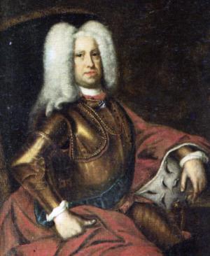 Portrait de Christian-Auguste de Holstein-Gottorp (1673 - 1726)