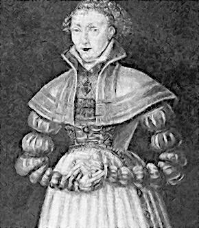 Portrait de Anna von Hohenzollern (1507 - 1567)