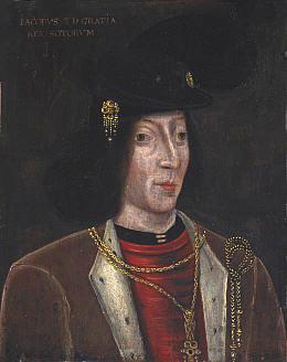 Portrait de James III of Scotland (1451 - 1488)