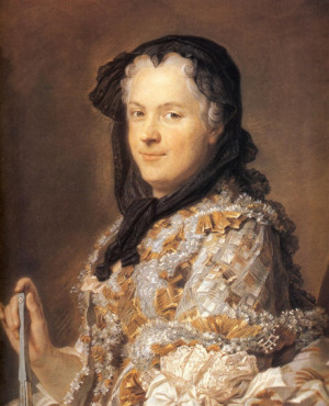 Portrait de Maria Leszczyńska (1703 - 1768)