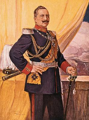 Portrait de Guillaume II (1859 - 1941)