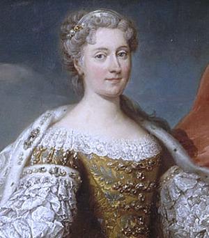 Portrait de Katarzyna Opalińska (1682 - 1747)
