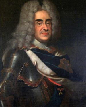 Portrait de August von Sachsen (1670 - 1733)