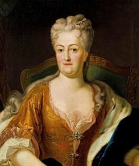 Portrait de Christiane Eberhardine von Hohenzollern (1671 - 1727)