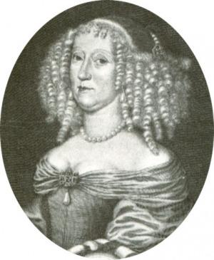 Portrait de Anna Katharina zu Salm-Kyrburg (1614 - 1655)